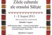 Zilele Culturale ale Orasului Saliste – 2015