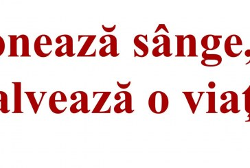 """,,Doneazã sânge, salveazã o viaþã!"""""""