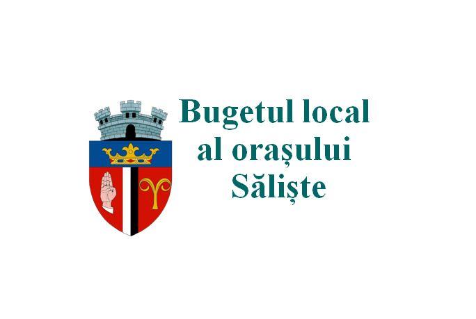 Bugetul local al oraşului Sălişte