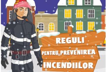 Mãsuri de prevenire a incendiilor în sezonul rece la gospodăriile populației