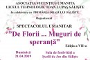 "Spectacol umanitar ""De Florii … Muguri de speranță"""