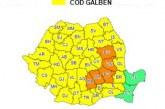 AVERTIZARE METEOROLOGICĂ –COD GALBEN